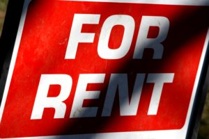 For-rent-sign rent reporting
